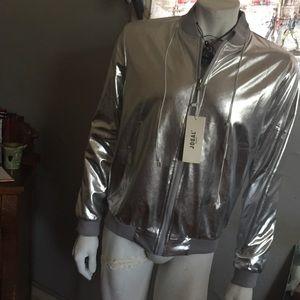 NWT Jogal silver jacket
